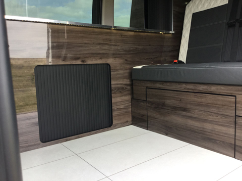 Konigsmann Camper Van Unique electric underfloor heating system