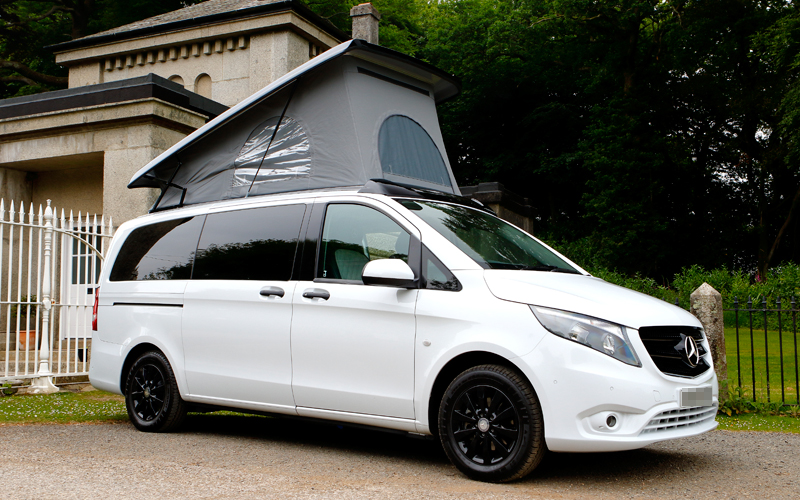 ai campers Bespoke Mercedes Vito Conversions - Mobile Slide Two